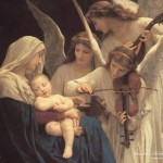 Reflexiones – Song of the Angels de William Bouguereau
