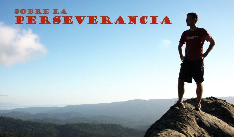 sobre la perseverancia