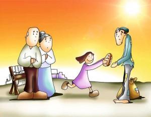 la caridad y la misericordia